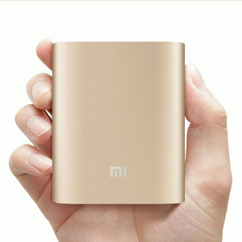 Внешний аккумулятор Xiaomi Power Bank 10000 mAh Gold