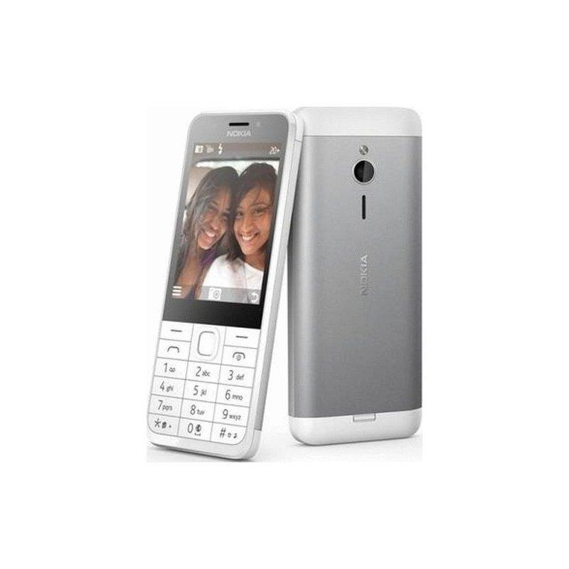 Nokia 230 Dual Sim Silver White