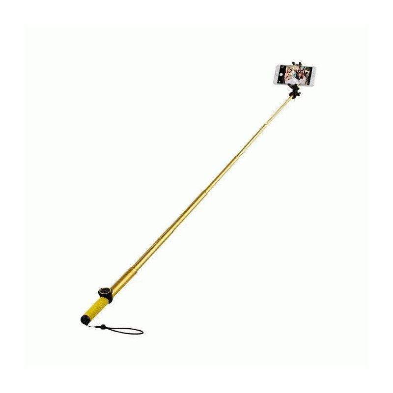 Телескопический монопод Momax Selfie Hero 70cm Bluetooth для селфи (KMS6L) Gold