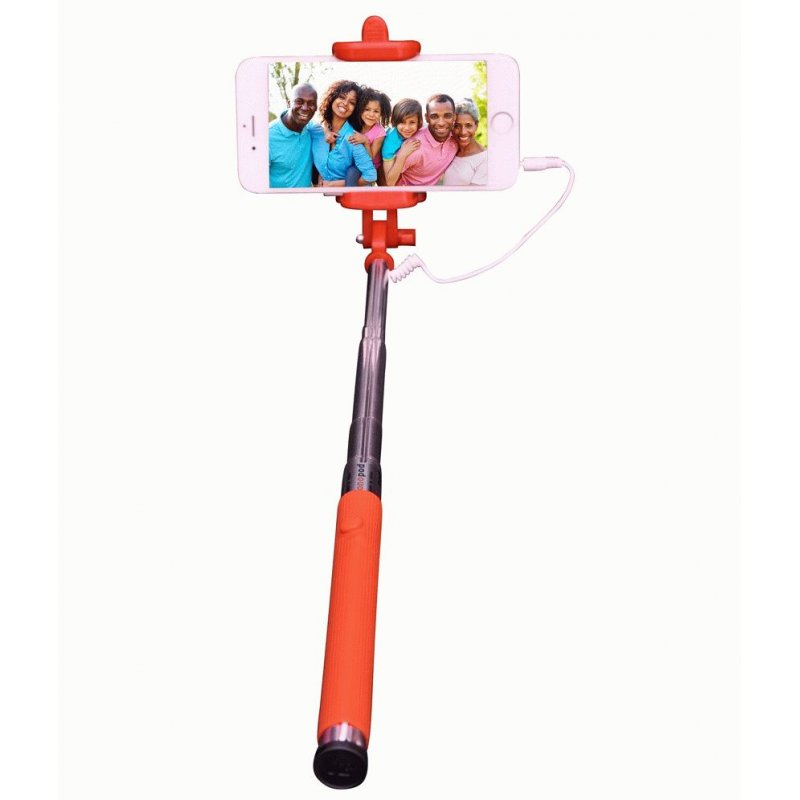 Телескопический монопод Selfie Stick Orange