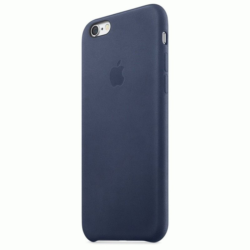 Чехол Apple iPhone 6s Leather Case Midnight Blue (MKXU2ZM/A)