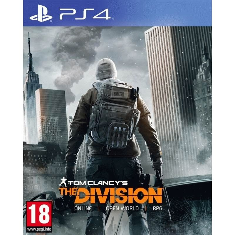 Игра Tom Clancy's The Division для Sony PS 4 (русская версия)