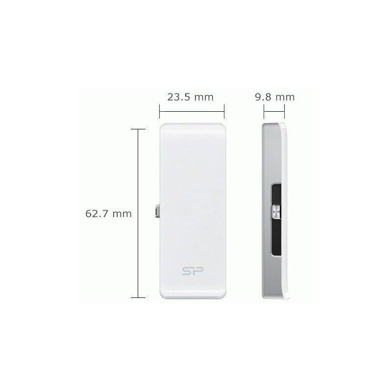 Накопитель Silicon Power xDrive Z30 Lightning/USB 3.0 64GB