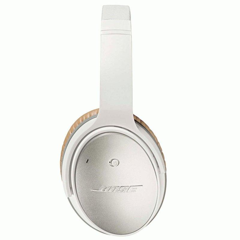 Bose QuietComfort 25 Acoustic Noise Cancelling Headphones MFI White