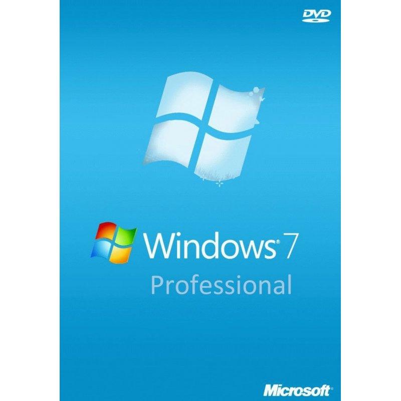 Microsoft Windows 7 SP1 Professional 64-bit Russian 1ПК DVD (ОЕМ для сборщиков) (FQC-08297)