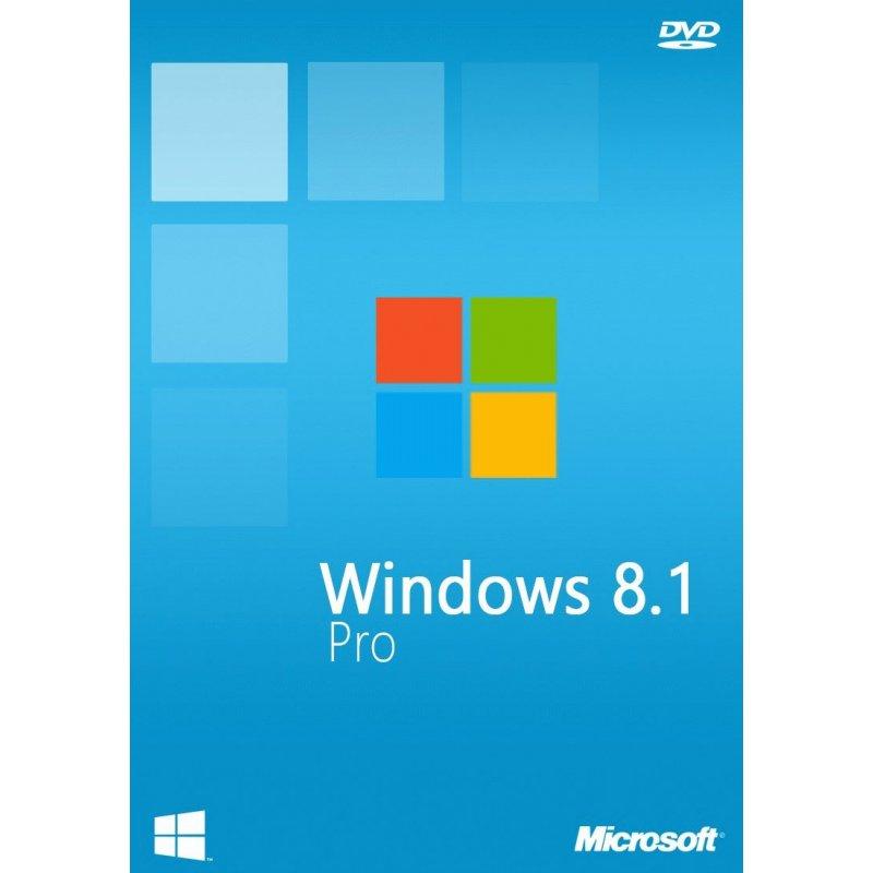 Microsoft Windows 8.1 Pro 64-bit English 1ПК DVD (ОЕМ для сборщиков) (FQC-06949)