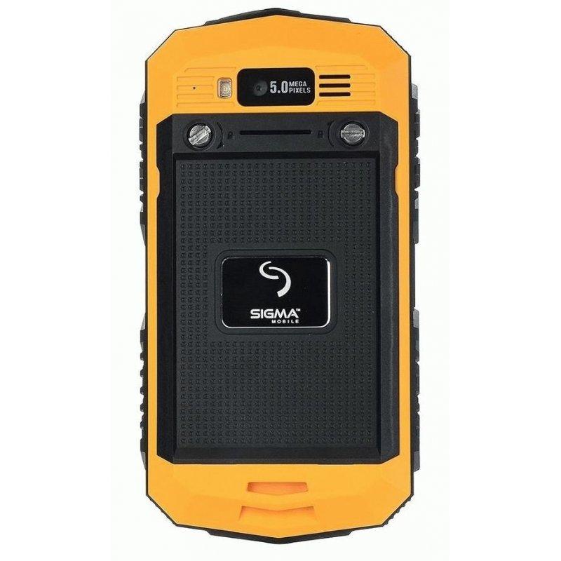 Sigma mobile X-treme PQ16 Yellow