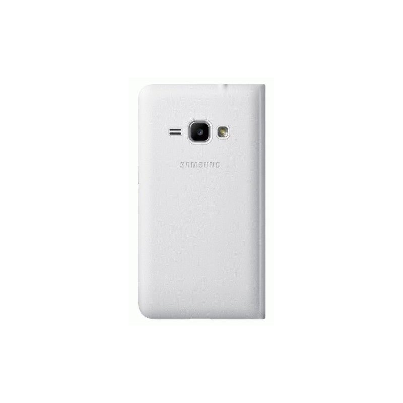 Чехол Flip Wallet для Samsung Galaxy J1 (2016) J120 White (EF-WJ120PWEGRU)
