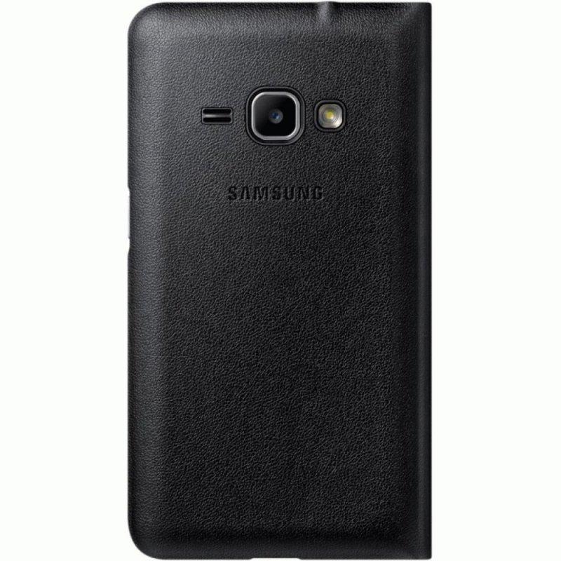 Чехол Flip Wallet для Samsung Galaxy J1 (2016) J120 Back (EF-WJ120PBEGRU)