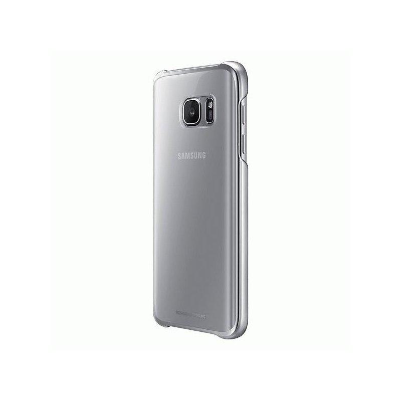Чехол Clear Cover для Samsung Galaxy S7 G930 Silver (EF-QG930CSEGRU)