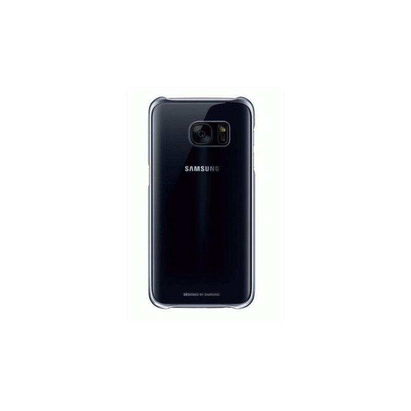 Чехол Clear Cover для Samsung Galaxy S7 Edge G935 Black (EF-QG935CBEGRU)