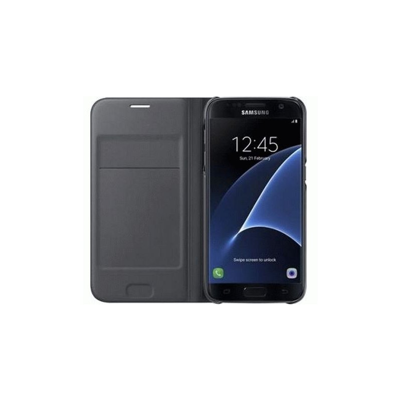 Чехол LED View Cover для Samsung Galaxy S7 G930 Black (EF-NG930PBEGRU)
