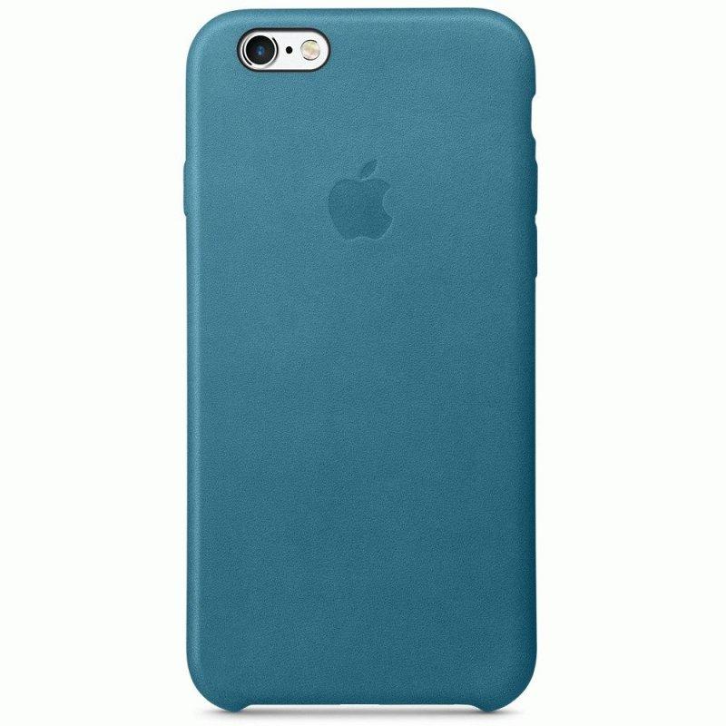 Чехол Apple iPhone 6s Leather Case Marine Blue (MM4G2ZM/A)
