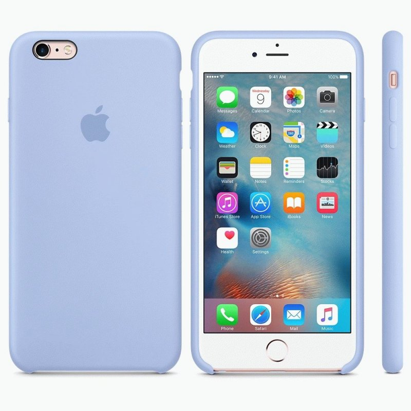 Чехол Apple iPhone 6s Plus Silicone Case Lilac (MM6A2ZM/A)