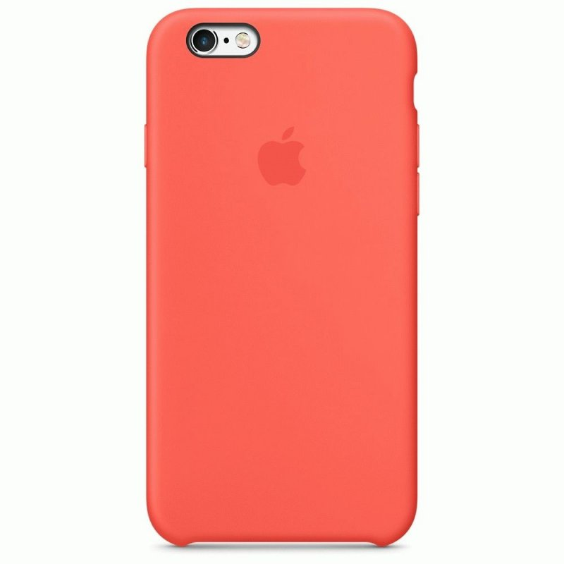 Чехол Apple iPhone 6s Silicone Case Apricot (MM642ZM/A)