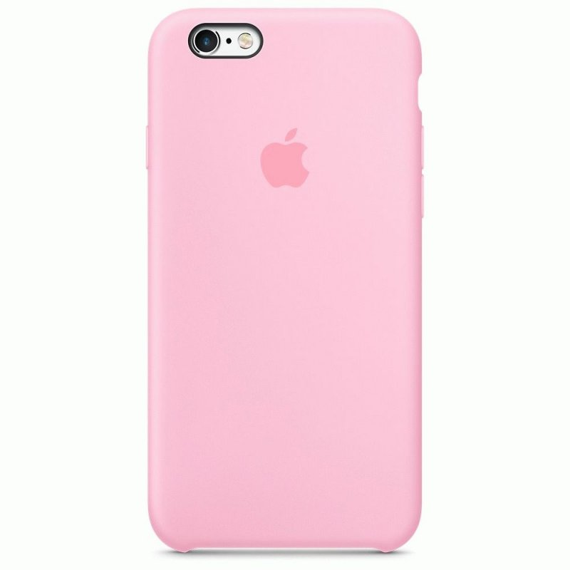 Чехол Apple iPhone 6s Silicone Case Light Pink (MM622ZM/A)