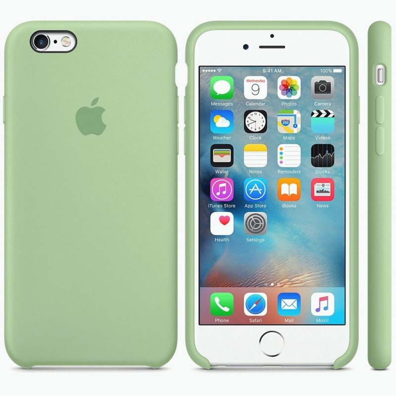 Чехол Apple iPhone 6s Silicone Case Mint (MM672ZM/A)