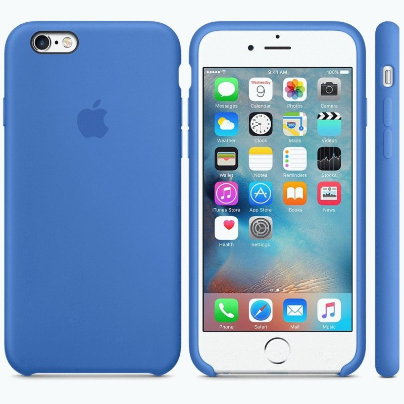 Чехол Apple iPhone 6s Silicone Case Royal Blue (MM632ZM/A)
