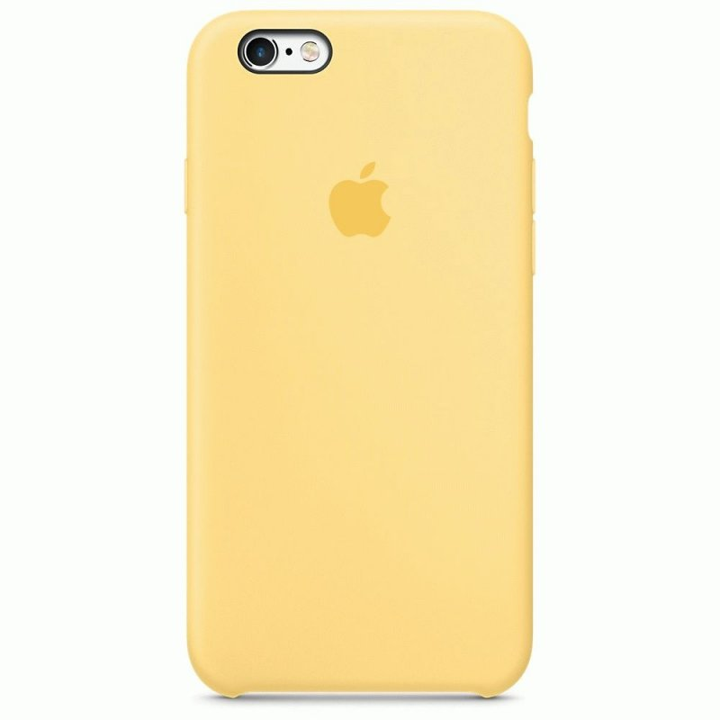 Чехол Apple iPhone 6s Silicone Case Yellow (MM662ZM/A)