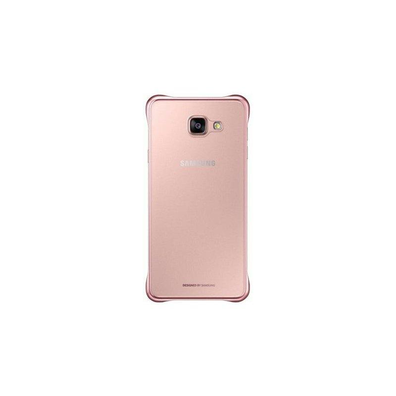 Чехол Clear Cover для Samsung Galaxy A3 (2016) A310 Transparent Pink Gold (EF-QA310CZEGRU)