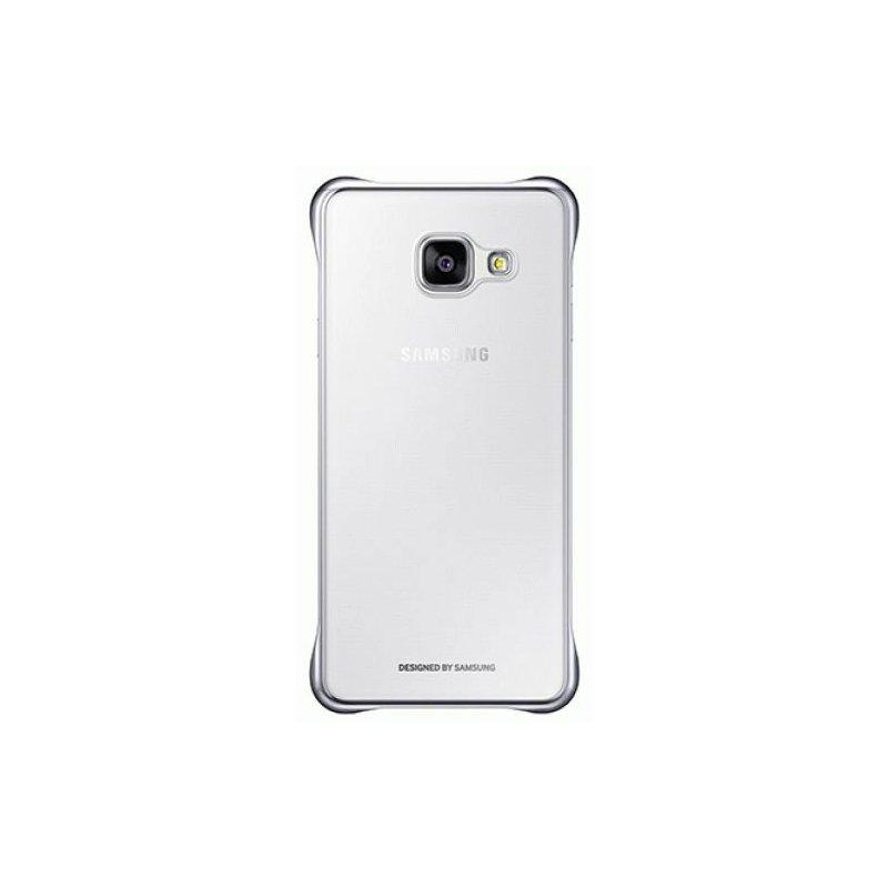 Чехол Clear Cover для Samsung Galaxy A3 (2016) A310 Transparent Silver (EF-QA310CSEGRU)