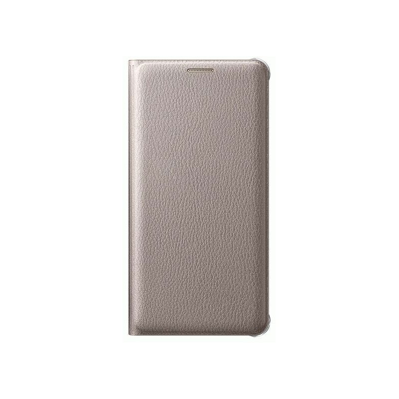 Чехол Flip Cover для Samsung Galaxy A5 (2016) A510 Gold (EF-WA510PFEGRU)