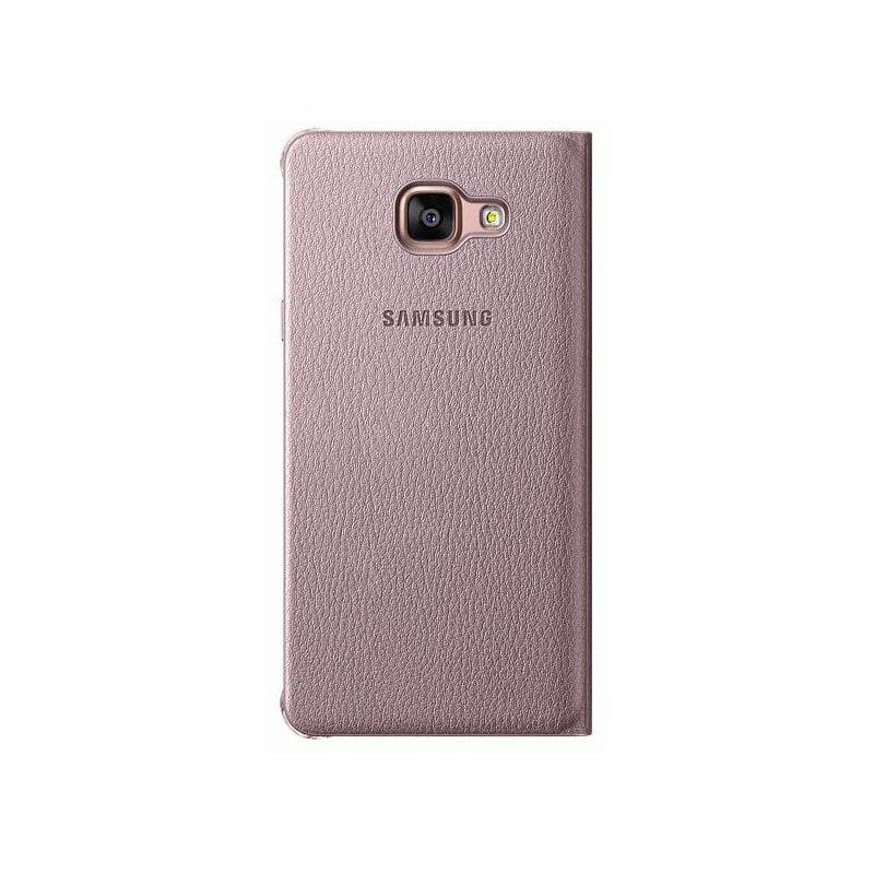 Чехол Flip Cover для Samsung Galaxy A5 (2016) A510 Pink Gold (EF-WA510PZEGRU)