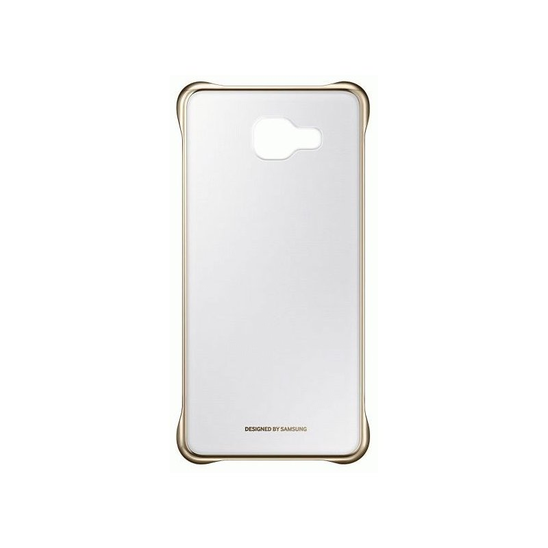 Чехол Clear Cover для Samsung Galaxy A5 (2016) A510 Transparent Gold (EF-QA510CFEGRU)