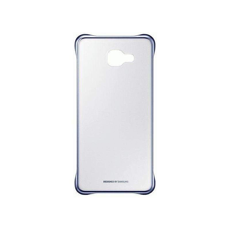 Чехол Clear Cover для Samsung Galaxy A7 (2016) A710 Transparent Black (EF-QA710CBEGRU)
