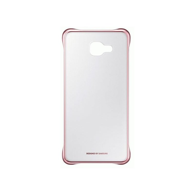 Чехол Clear Cover для Samsung Galaxy A7 (2016) A710 Transparent Pink Gold (EF-QA710CZEGRU)