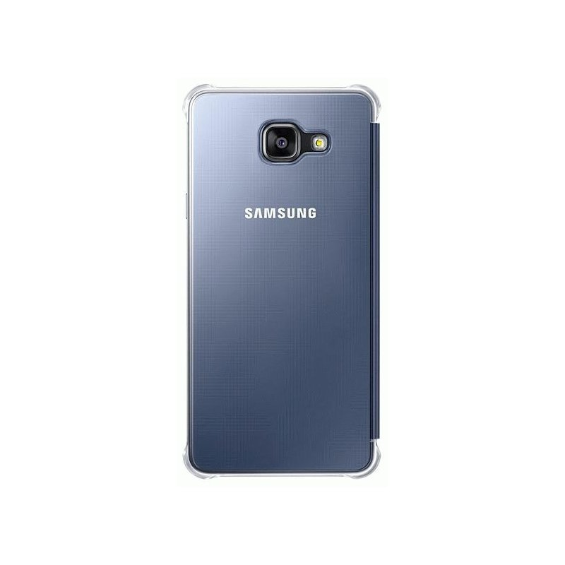 Чехол Clear View Cover для Samsung Galaxy A7 (2016) A710 Black (EF-ZA710CBEGRU)