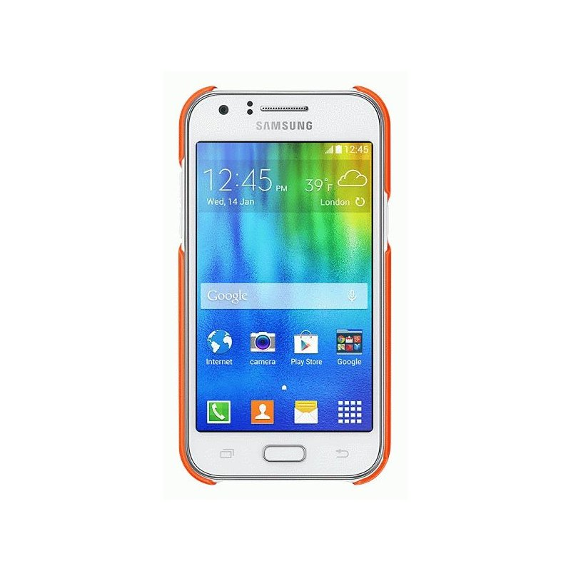Чехол Samsung для Galaxy J1 Duos J100 Orange (EF-PJ100BOEGRU)