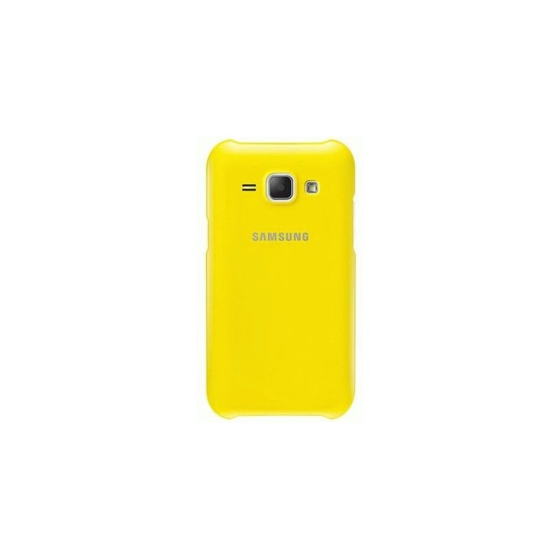 Чехол Samsung для Galaxy J1 Duos J100 Yellow (EF-PJ100BYEGRU)