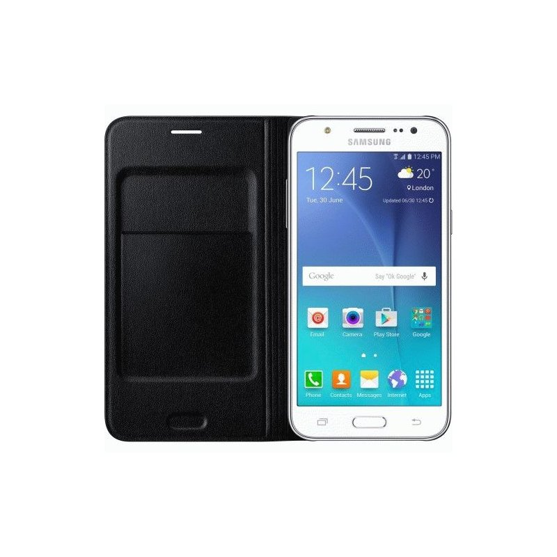 Чехол Flip Wallet для Samsung Galaxy J5 Duos J500 Back (EF-WJ500BBEGRU)