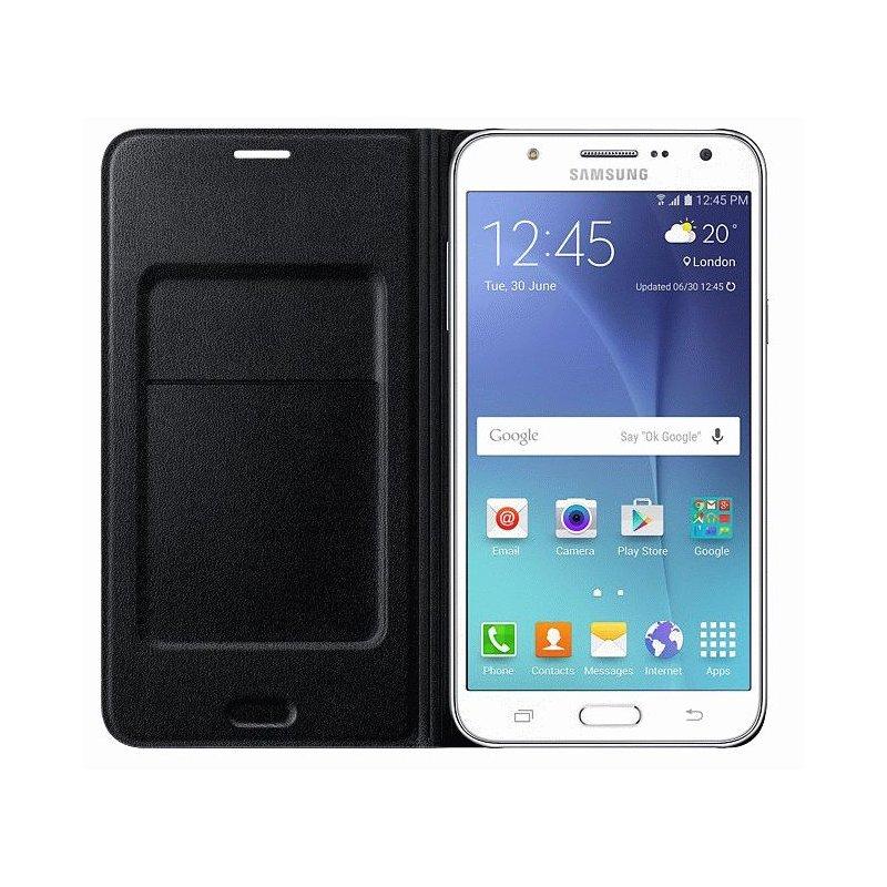 Чехол Flip Wallet для Samsung Galaxy J7 Duos J700 Black (EF-WJ700BBEGRU)