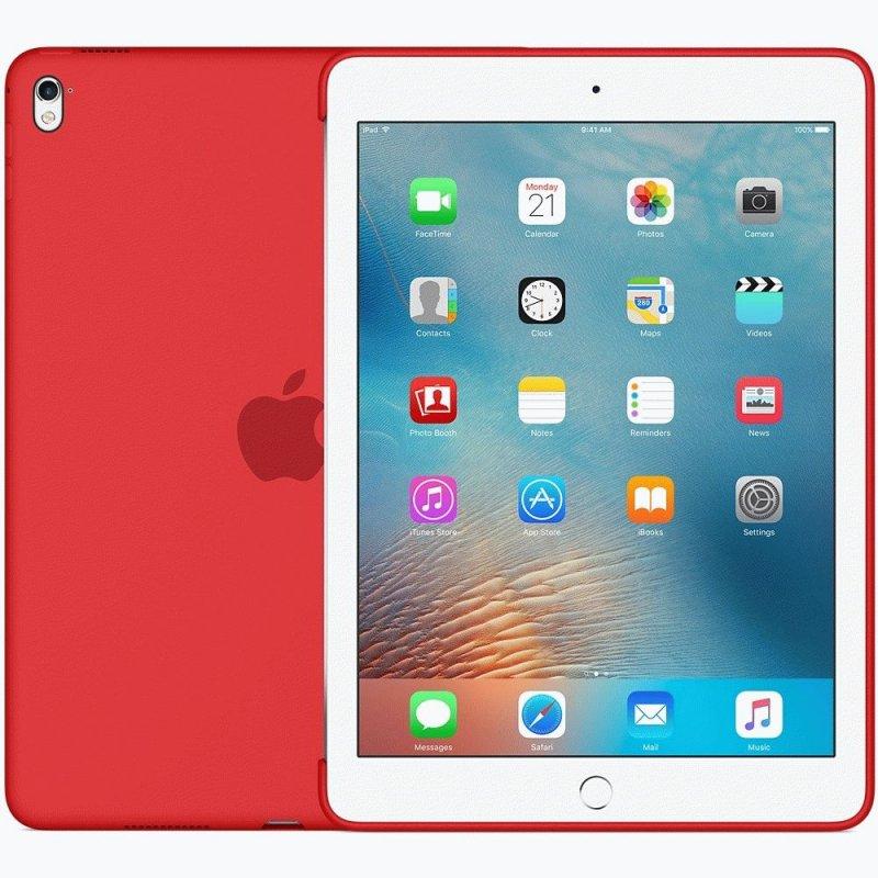 Накладка Apple Silicone Case для iPad Pro 9.7 Red (MM222ZM/A)