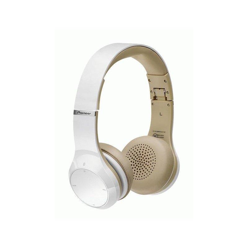 Pioneer SE-MJ771BT Wireless Stereo Headphones White (SE-MJ771BT-W)