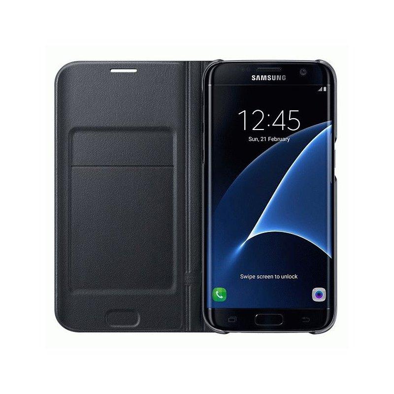 Чехол LED View Cover для Samsung Galaxy S7 Edge G935 Black (EF-NG930PBEGRU)