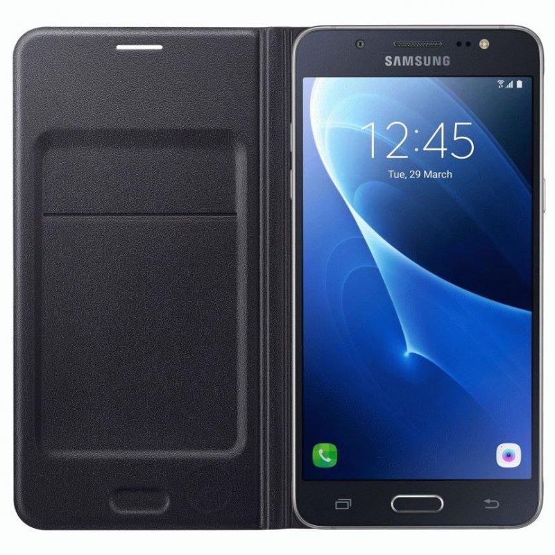 Чехол Flip Wallet для Samsung Galaxy J5 (2016) J510 Back (EF-WJ510PBEGRU)