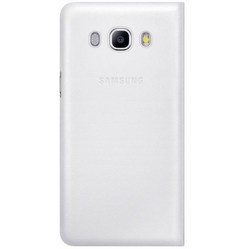 Чехол Flip Wallet для Samsung Galaxy J5 (2016) J510 White (EF-WJ510PWEGRU)