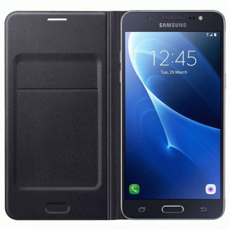 Чехол Flip Wallet для Samsung Galaxy J7 (2016) J710 Back (EF-WJ710PBEGRU)