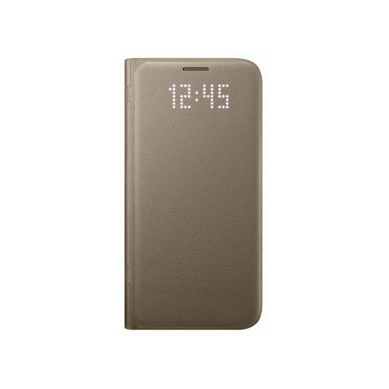 Чехол LED View Cover для Samsung Galaxy S7 G930 Gold (EF-NG930PFEGRU)