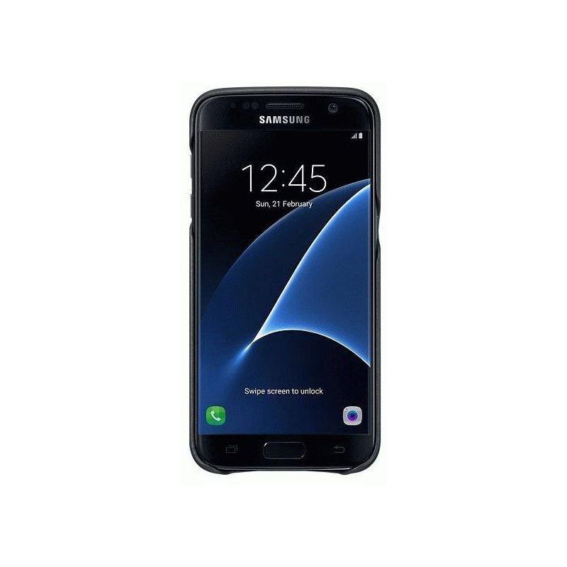 Чехол Leather Cover для Samsung Galaxy S7 G930 Black (EF-VG930LBEGRU)