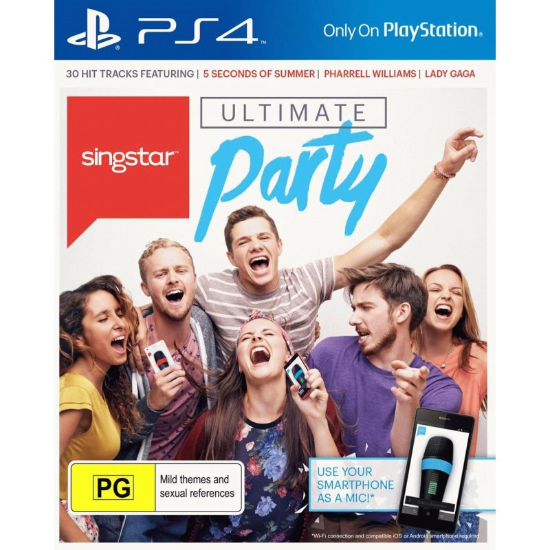 Игра Singstar: Ultimate Party (Короли вечеринок) для Sony PS 4