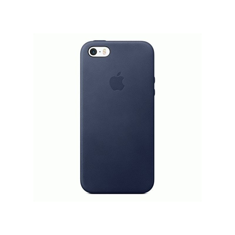 Чехол Apple iPhone SE Leather Case Midnight Blue (MMHG2ZM/A)