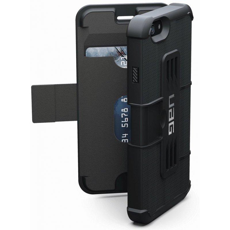 Накладка Urban Armor Gear (UAG) для iPhone 6 | 6s Scout Folio Black (IPH6/6SF-BLK-VP)