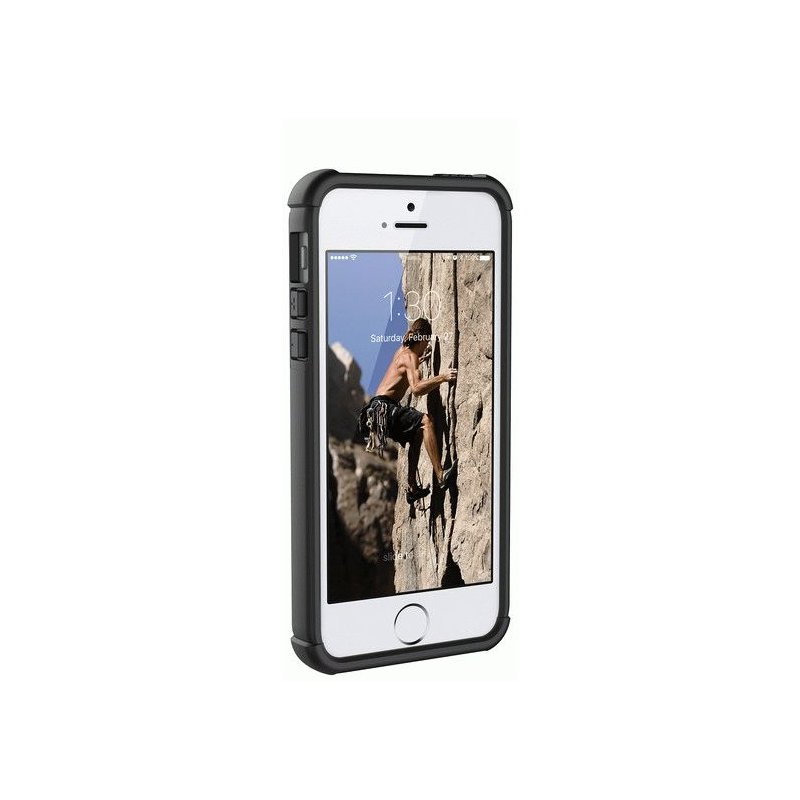 Накладка Urban Armor Gear (UAG) для iPhone 5s | SE Scout Black (IPH5S/SE-BLK)