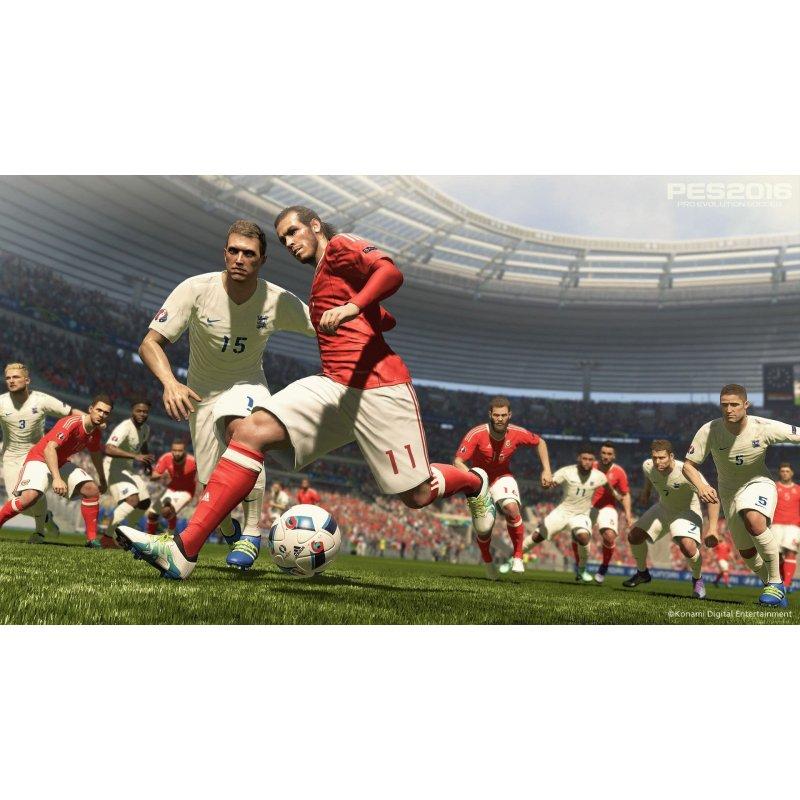 Игра Pro Evolution Soccer UEFA EURO 2016 (PES 2016) для Sony PS 4 (русские субтитры)