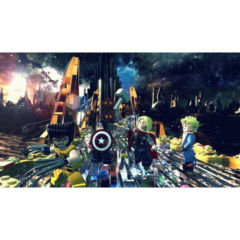 Игра LEGO Marvel Super Heroes для Sony PS 4 (английская версия)