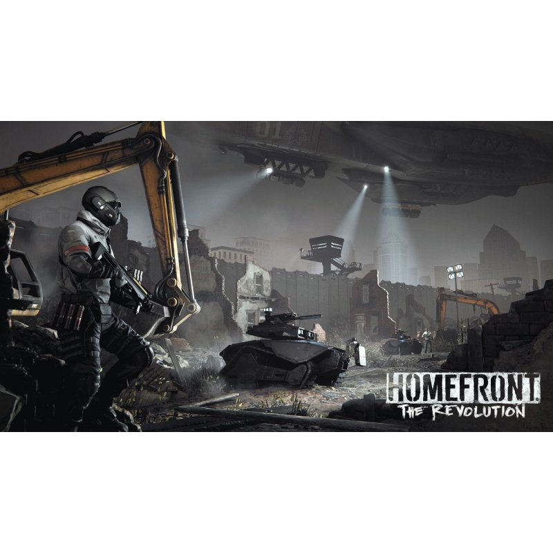 Игра Homefront: The Revolution для Sony PS 4 (русская версия)